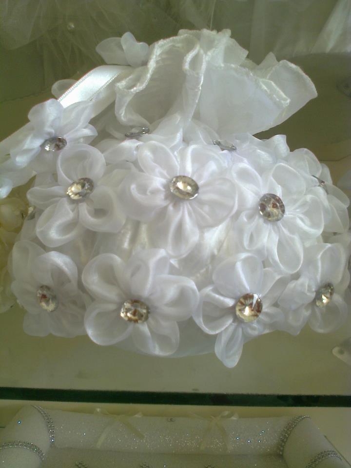 گالری عروس شاهدخت - کیف جواهرات عروس و داماد و گل سر عروس