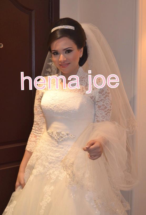 گالری عروس شاهدخت - لباس عروس پوشیده