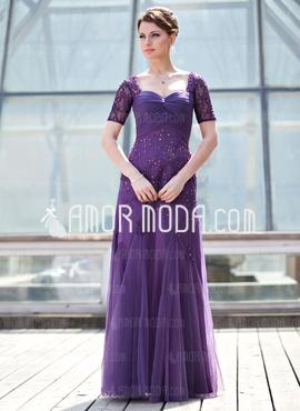 مدل لباس مجلسی با رنگ سوسنی