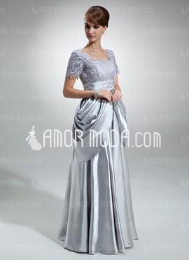 مدل لباس شب براق طوسی