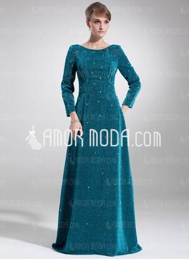 مدل لباس شب آبی نفتی