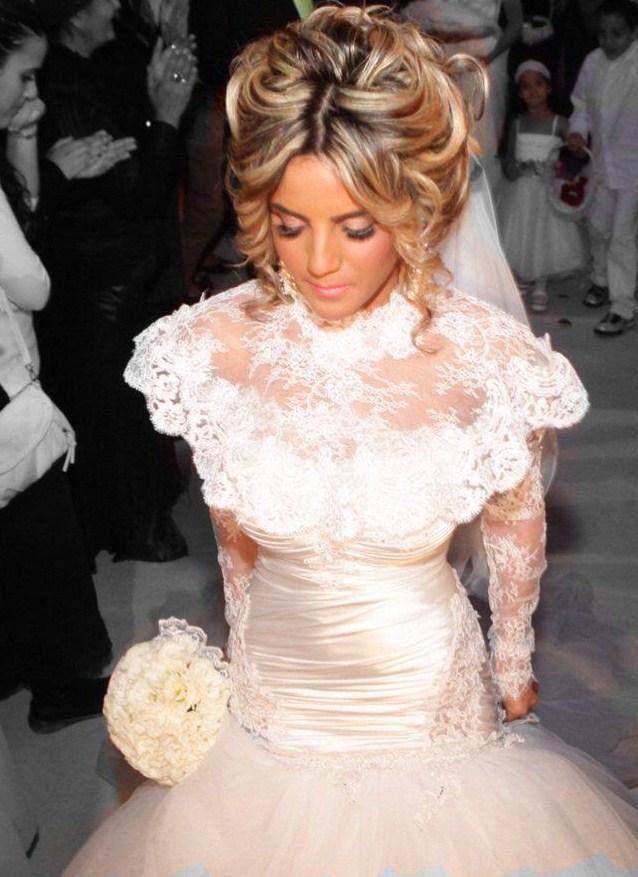 گالری عروس شاهدخت - لباس عروس پوشیده تر
